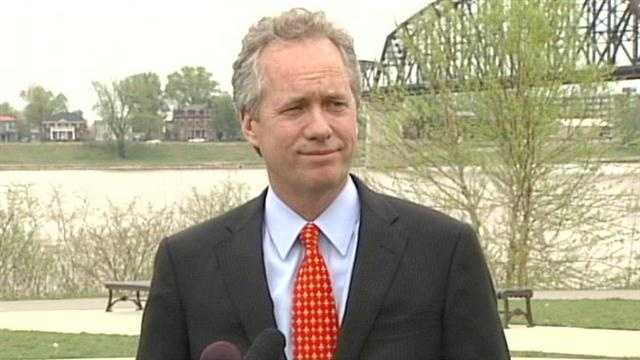 Louisville Mayor Greg Fischer announced Tuesday that he plans to run for a second term.