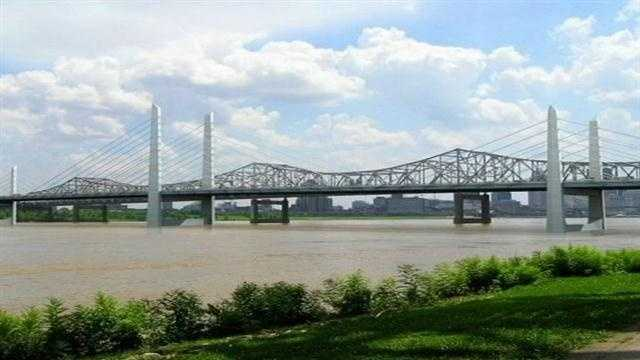 It's been discussed, researched and planned for decades, now one of the first steps in the construction of the new Downtown Bridge will happen Monday.