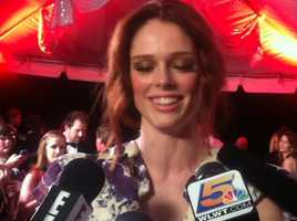 Coco Rocha at Barnstable Brown Gala