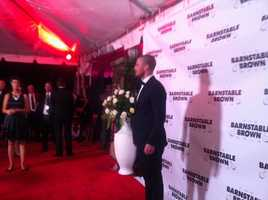 Stephen Amell at Barnstable Brown Gala