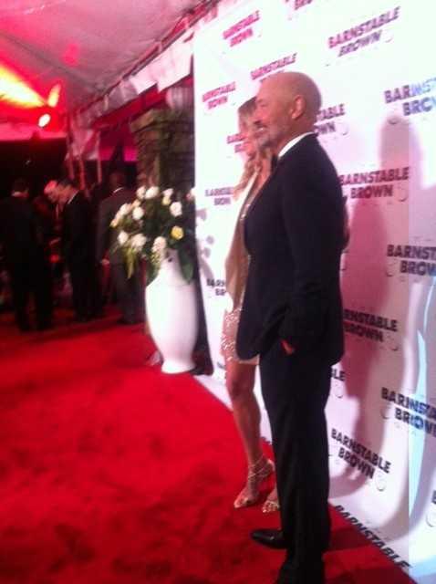 Terry O'Quinn at Barnstable Brown Gala