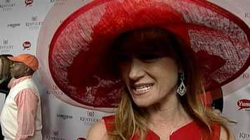Jane Seymour on the red carpet