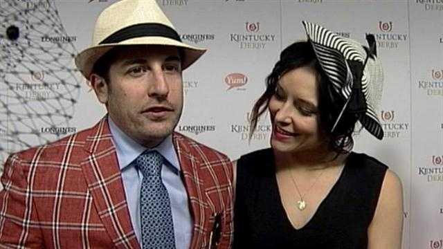 Jason Biggs on the red carpet