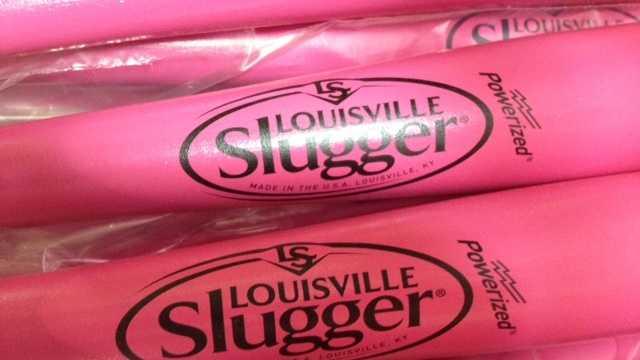 Louisville Slugger pink bats (3).jpeg