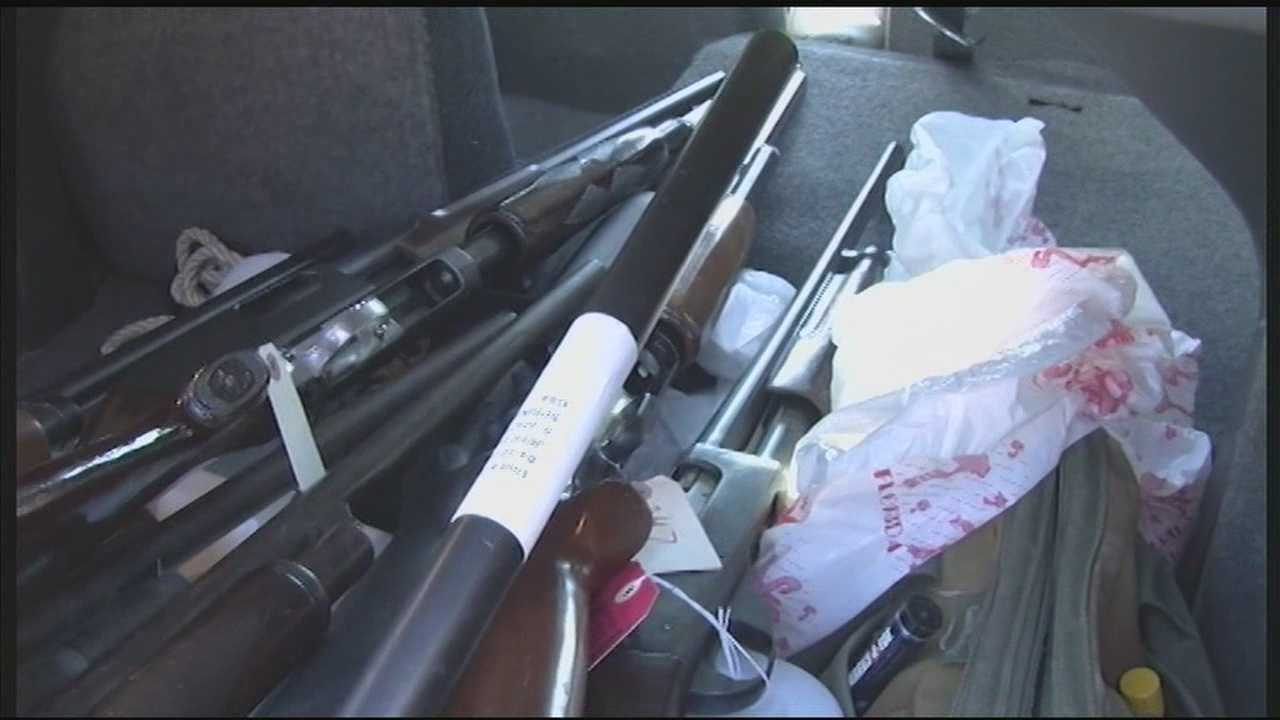 Louisville police push to get guns off the streets, but a WLKY investigation reveals those confiscated weapons don't go away&#x3B; they're resold to the highest bidders.