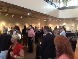 Louisville MagazineMay Issue Launch Party was co-sponsored byAbbey Road on the Riverand held at the Muhammad Ali Center.