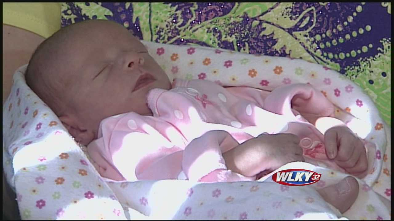 A new mom is looking forward to celebrating her first Mother's Day with her baby girl after a health scare forced her to have a C-section.