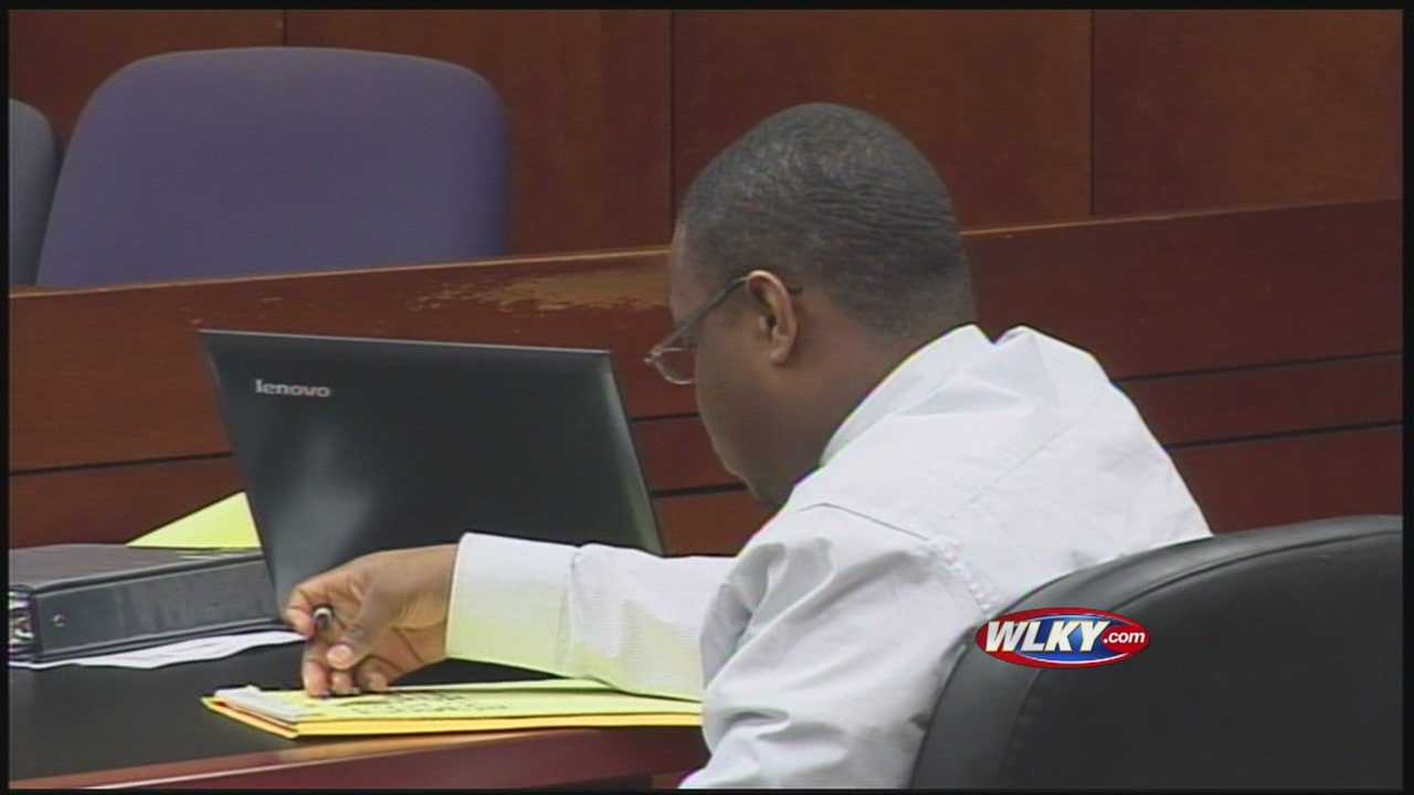 A police detective took the stand today in the trial of a man accused of killing a witness.