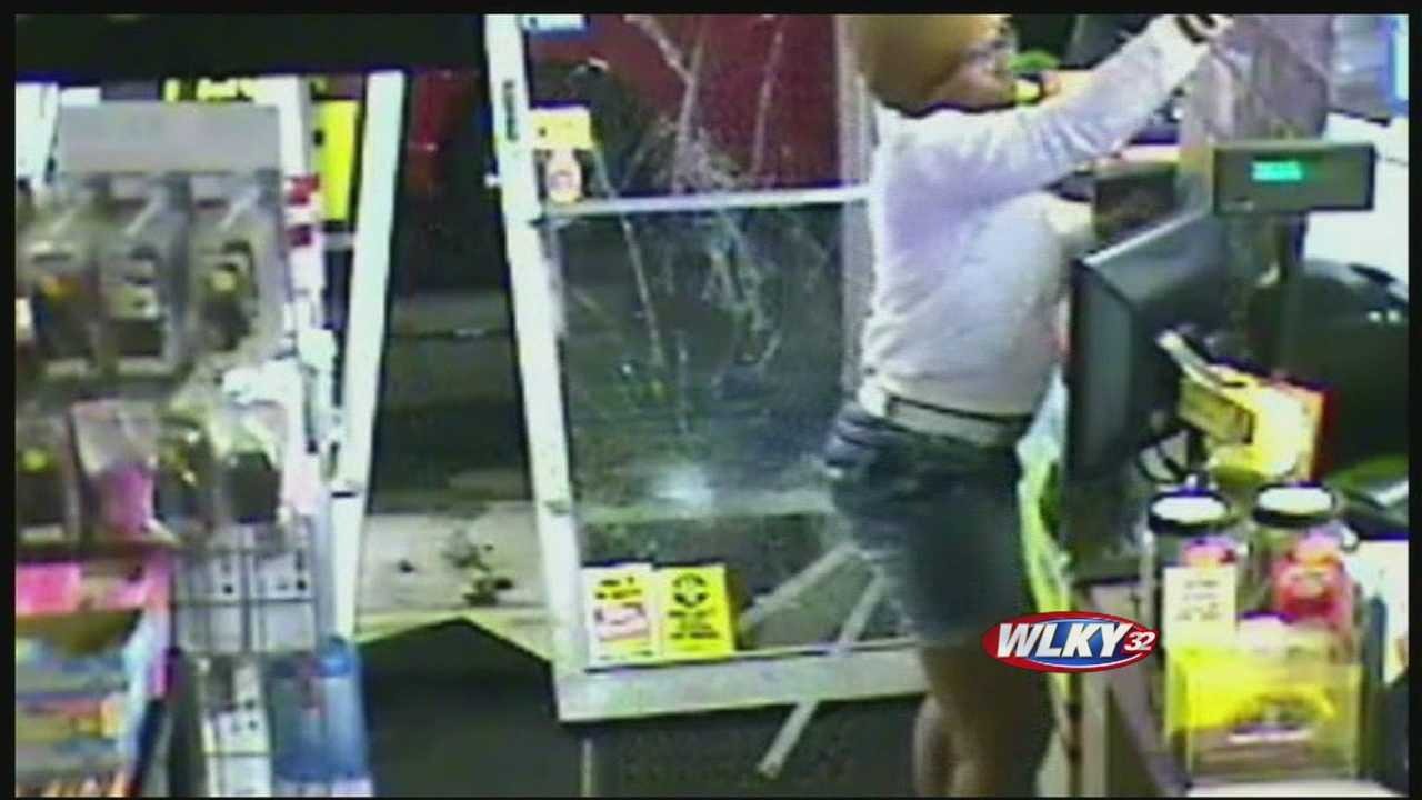 Metro police are asking for the public's help to find a thief who stole more than 1,500 lottery tickets&#x3B; the crime was all caught on tape.