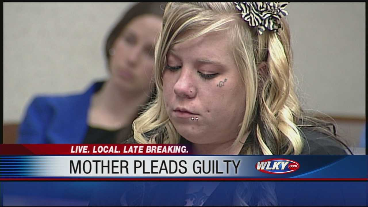 A Jeffersontown mother accused in her baby's drowning death will go to jail after taking a plea deal.