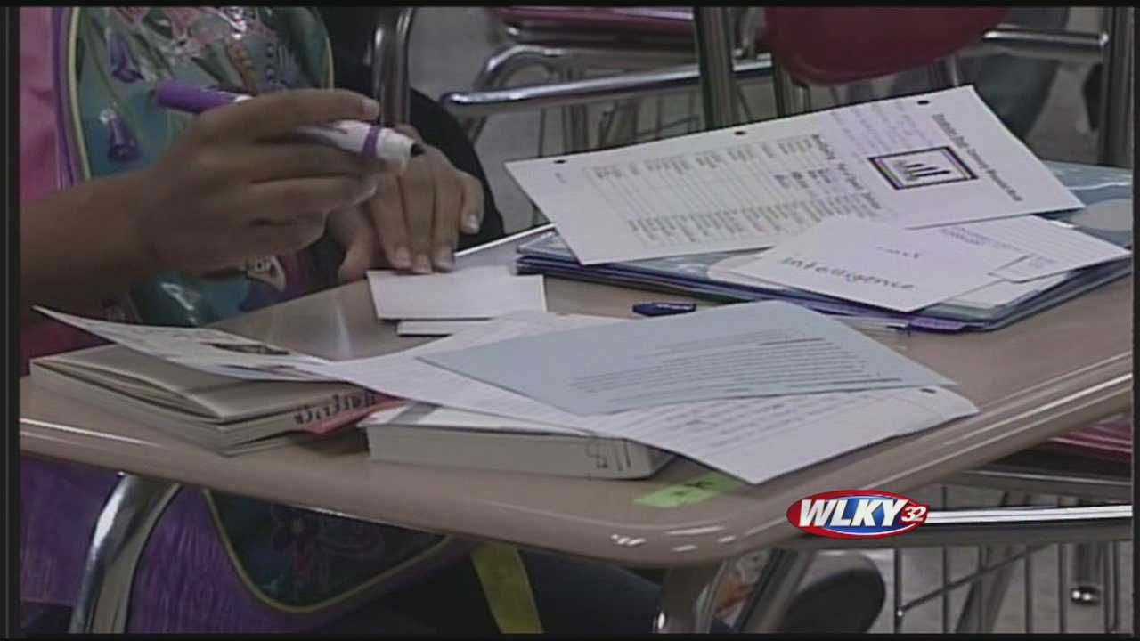 Jefferson County Public Schools has laid off 41 teachers, the largest layoff in more than a decade.
