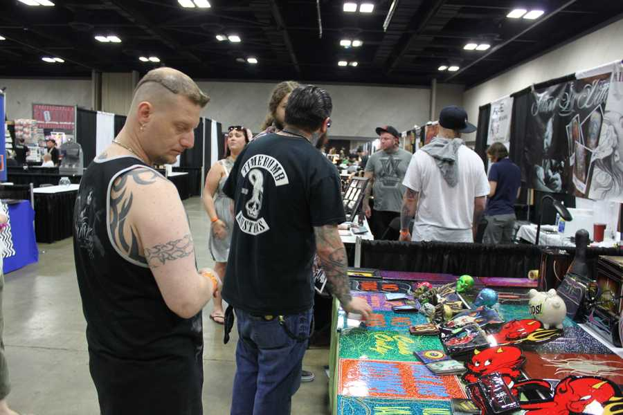 Hundreds of the world's best tattoo artists are in town this weekend for the second annual Louisville Tattoo Arts Convention.