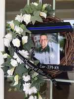May 28, 2013:Gov. Steve Beshear orders flags at all state office buildings to be displayed at half-staff on May 30 as a mark of respect for Officer Ellis.