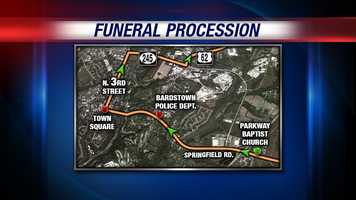 May 28, 2013: Supporting Heroes releases funeral procession route
