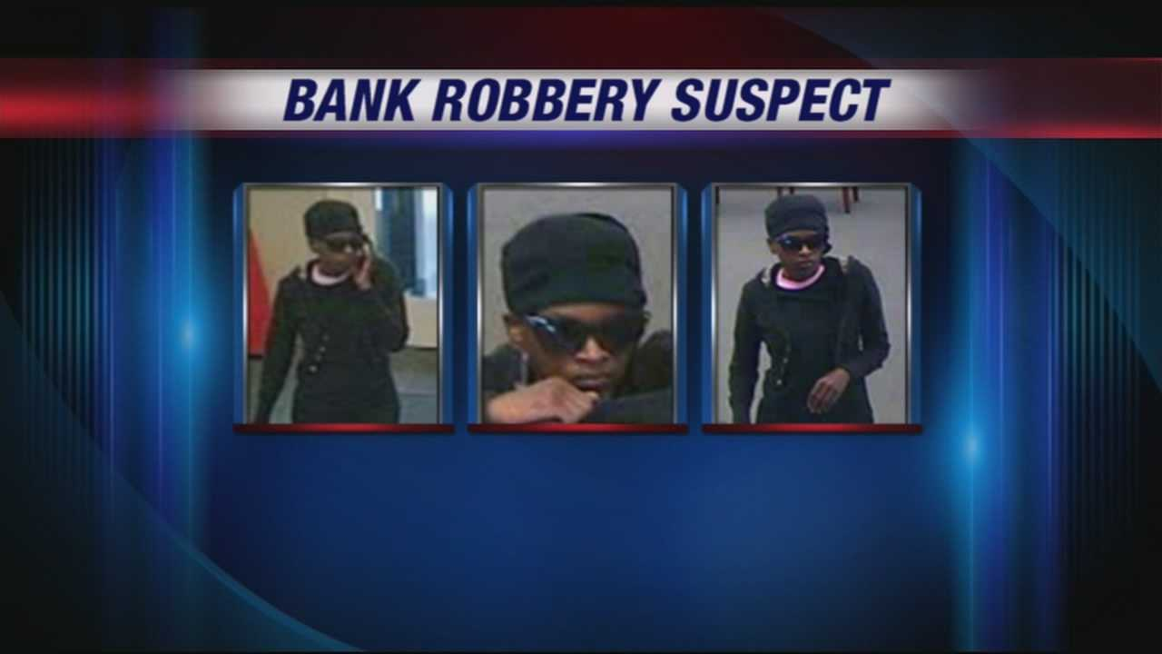 Police are searching for a bank robbery suspect after someone tried to hold up the Fifth-Third bank at 15th and Broadway.
