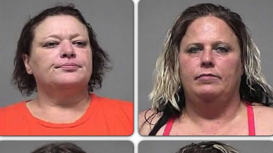 four women arrested.JPG