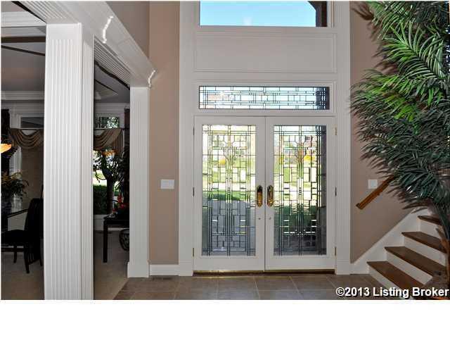 Many windows mean an abundance of natural light.