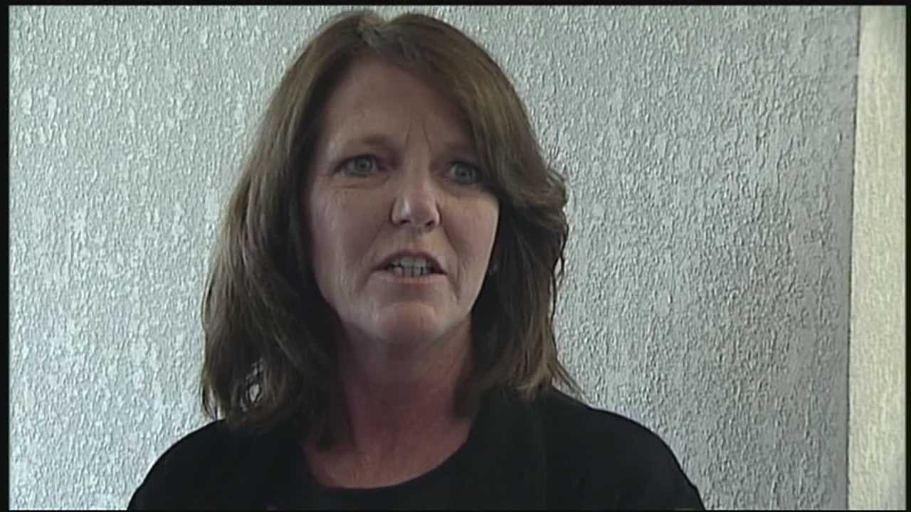 Susan Lukjan is accused of setting her own business on fire.
