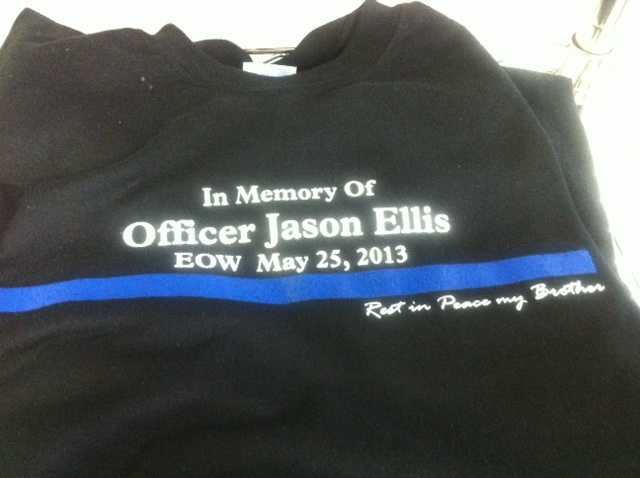 June 4, 2013: Memorabilia is being sold by Bardstown retailers to help Jason Ellis' family. (Find out more information here)