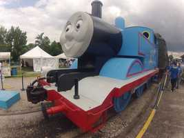 Thomas the Tank Engine is making a stop at the Kentucky Railway Museum for the Day Out with Thomas: Go Go Thomas Tour 2013.