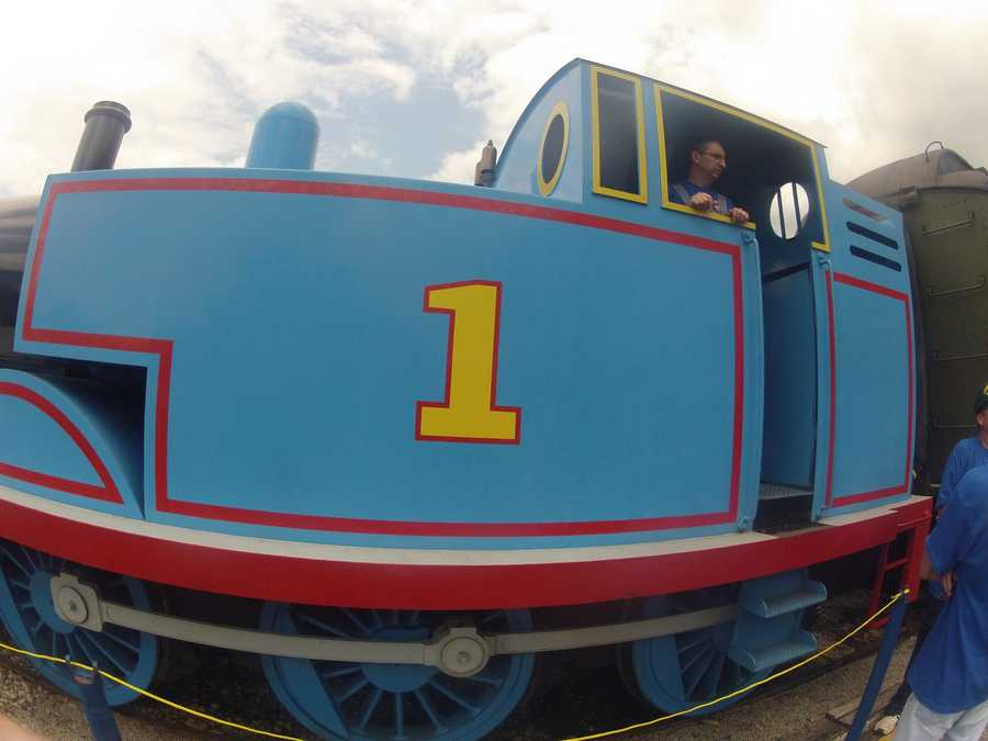The event includes a 25-minute ride with Thomas the Tank Engine, games, activities, an opportunity to meet Sir Topham Hatt, storytelling, live music and more.