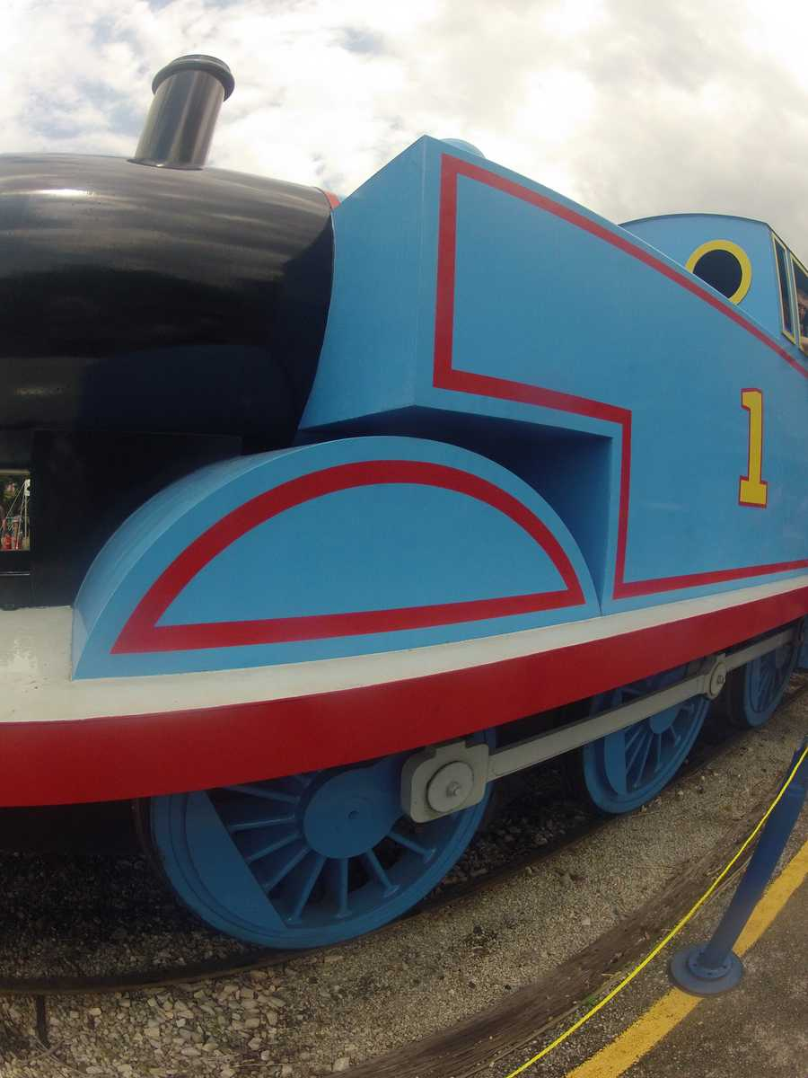 The train ride departs every 45 minutes rain or shine from 9:50 a.m. to 4:30 p.m. Saturday and Sunday (June 8 and 9)