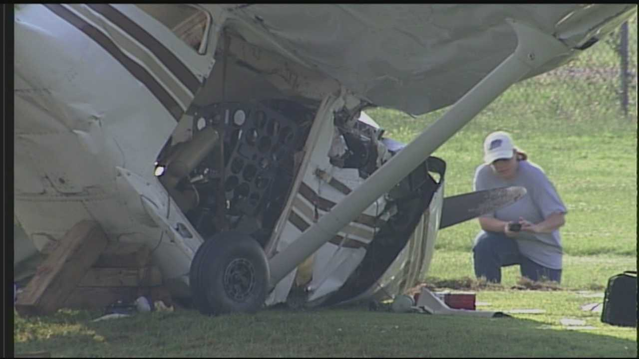 Four people were critically injured when a plane crashed onto Seneca Golf Course
