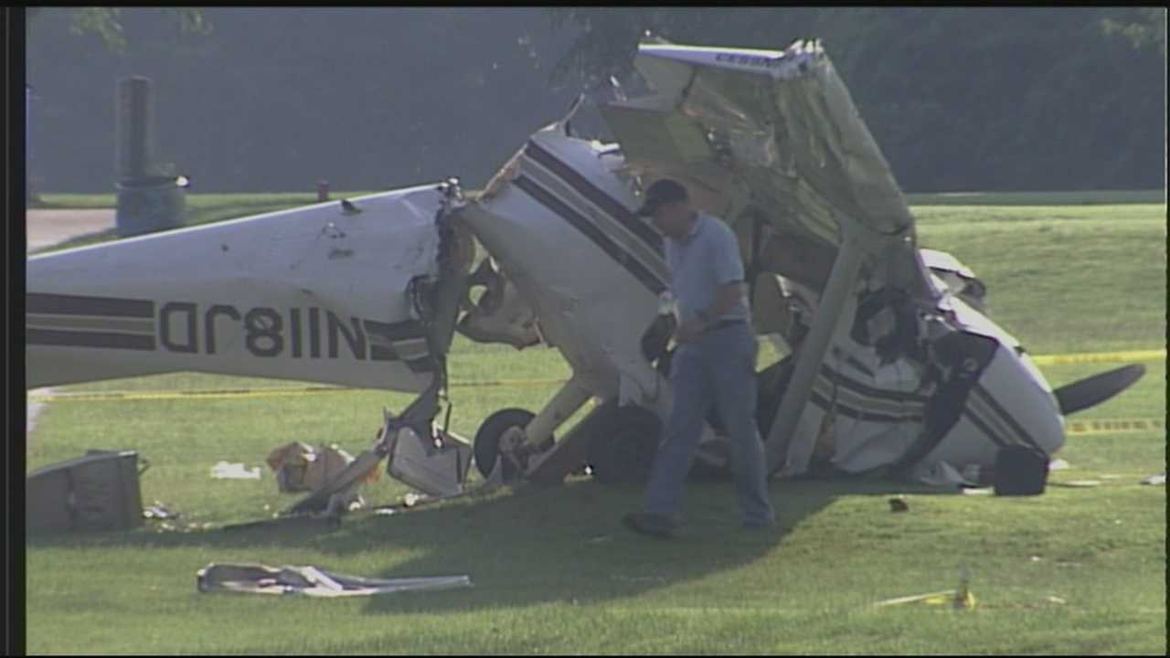 One teen is in critical condition and three others are in serious condition after a plane crash on one of Louisville's busiest public golf courses.