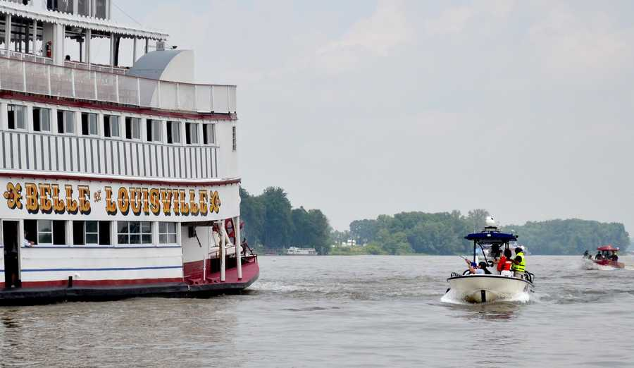 The response teams across the Ohio River will be able to board, scout and deploy any bystanders in case of any threats or horrible weather conditions.