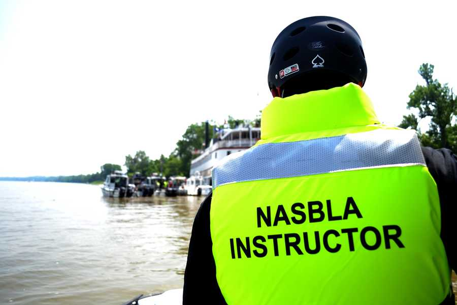 The National Association of State Boating Administrators (NASBLA) has been training theLouisville police, Louisville fire department, Jeffersonville Police, and Jeffersonville fire department to respond to a national emergency on the water.