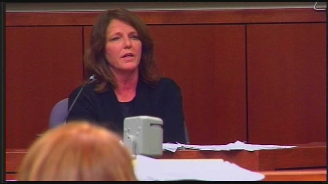 Woman accused of arson takes stand