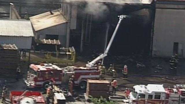A fire broke out Friday at Northland Lumber on Highway 146 in Lagrange.