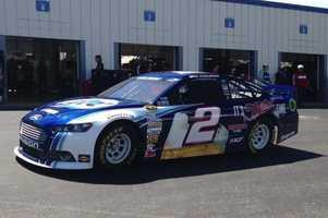 Brad Keslowski car