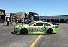 Kyle Busch car