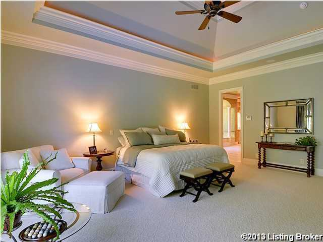 Now it's time to retreat to this first floor master suite.