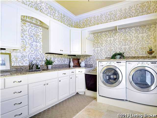 Say goodbye to a cramped laundry room, this open space provides all the room you'll need to get the week's loads done efficiently.
