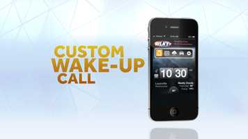 It's a custom wake-up call...   iTunes | Google Play