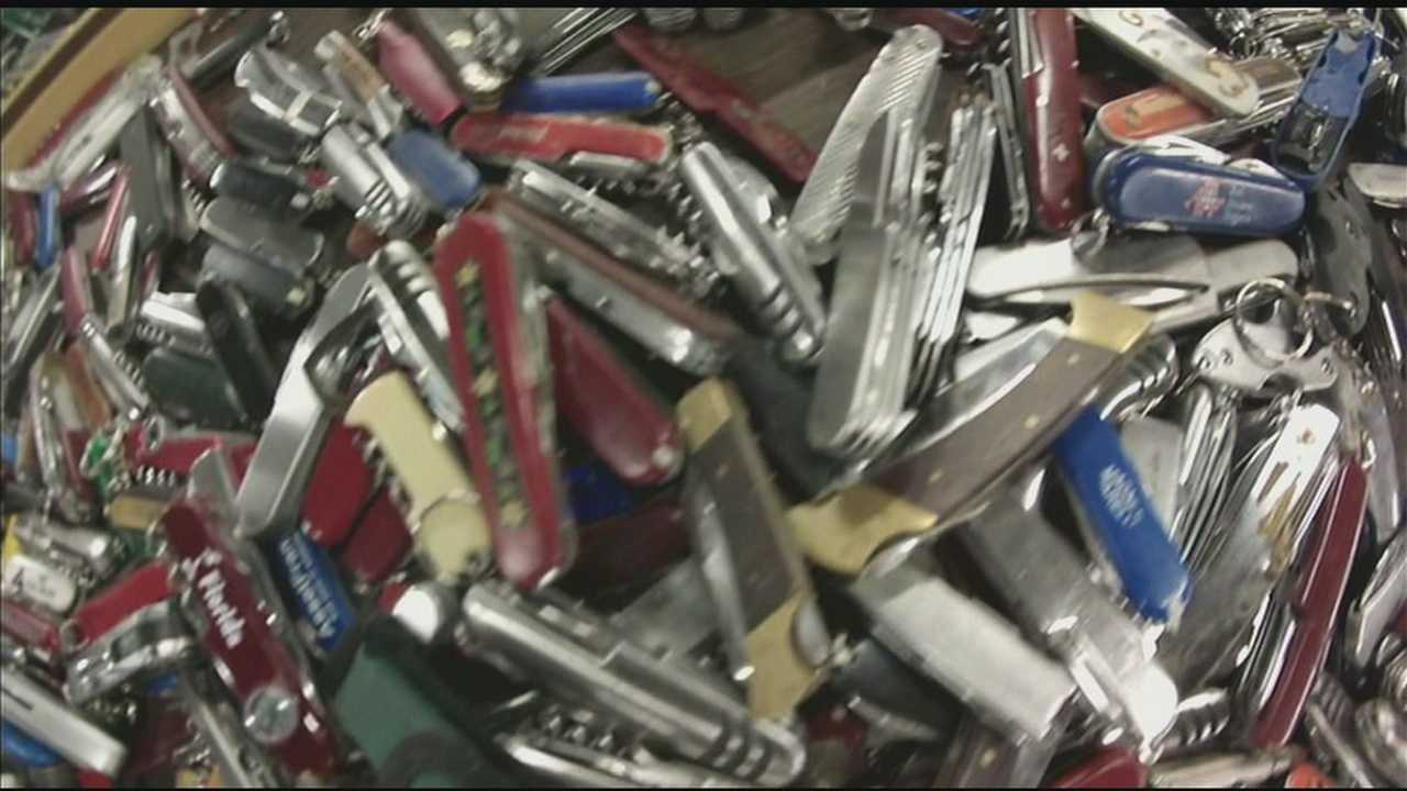 A WLKY investigation reveals how tens of thousands of knives and other items prohibited on planes, captured by TSA screeners at Kentucky's three largest airports, are being turned into big bucks by the Commonwealth of Kentucky.