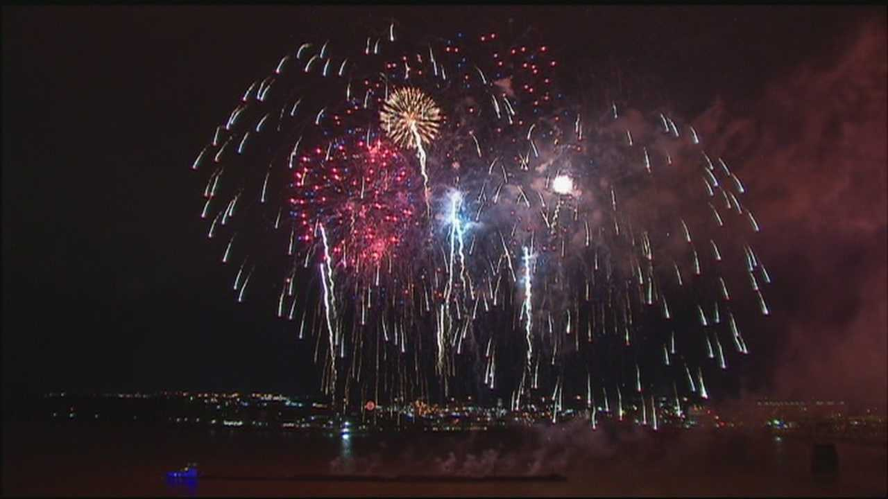 The weather forecast could put a damper on Fourth of July celebrations, but Jeffersonville officials have a plan in place if there's a rumble in the sky that's not from fireworks.