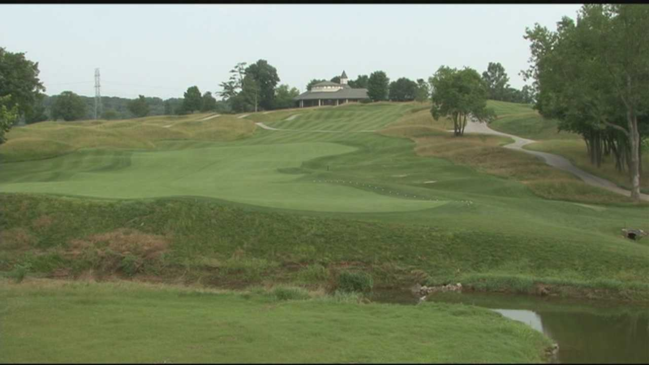 Another golf major is headed for Louisville next year and Valhalla Golf Club is getting ready.