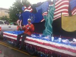The rain didn't stop the city of Jeffersonville from celebrating the Fourth of July.