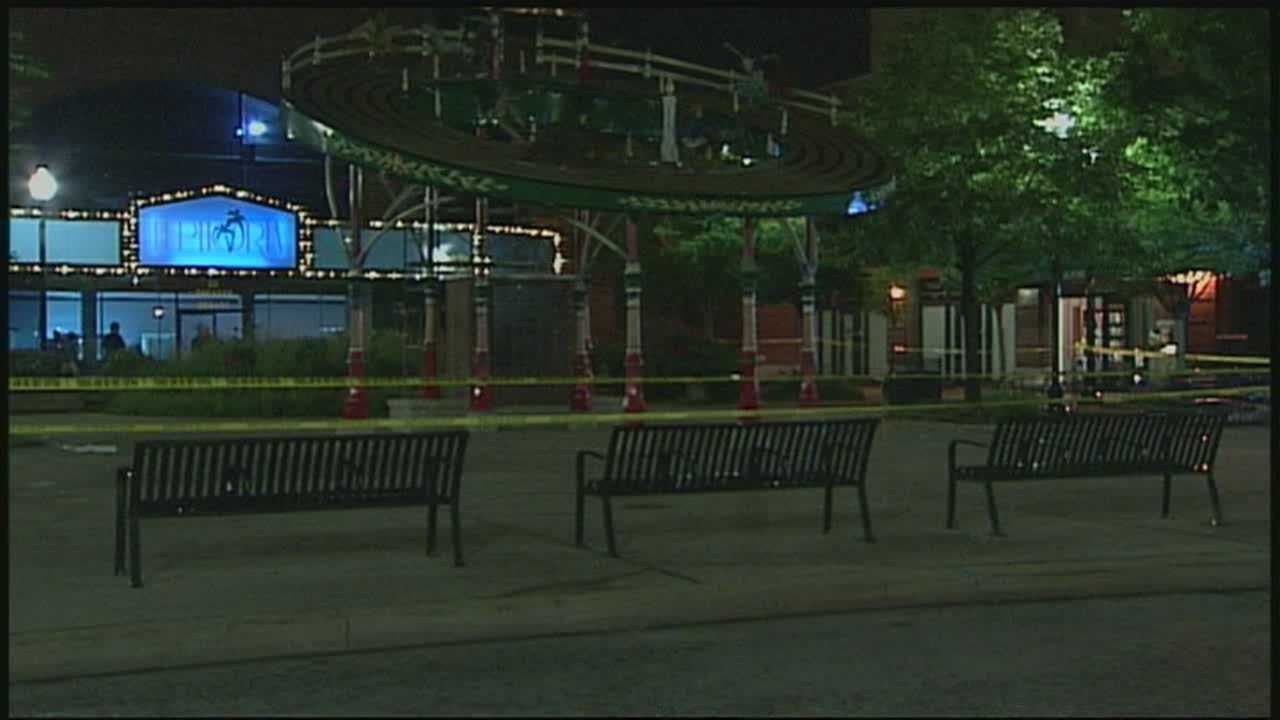 An investigation is underway after authorities say three people were shot at a nightclub.