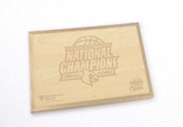The 2013 NCAA Division I Men's Basketball National Championship floor will be used to raise money in the fight against pediatric cancer.