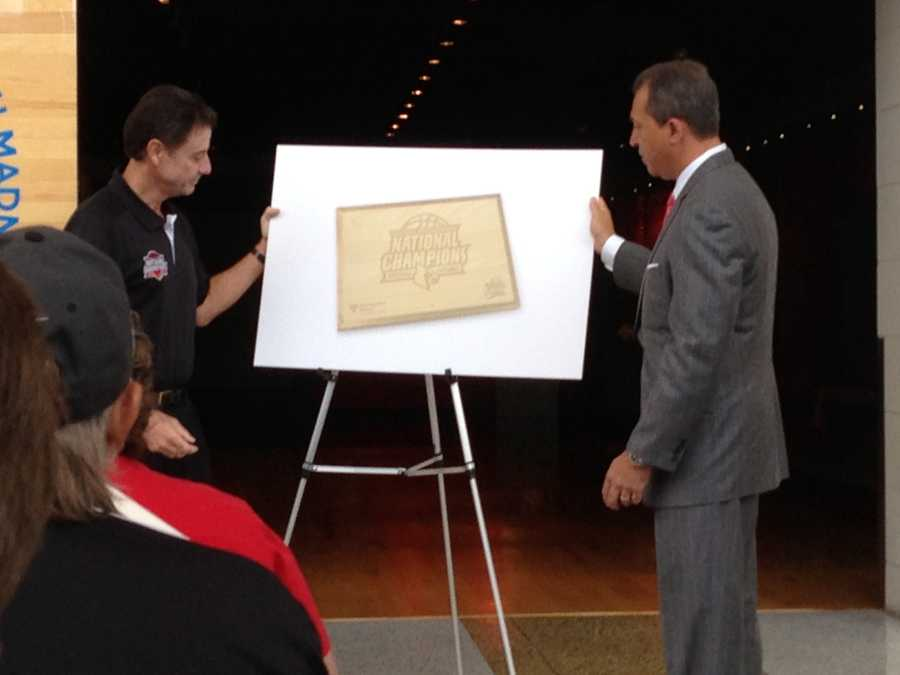 Souvenir pieces of the Georgia Dome floor will be sold to fans with proceeds benefiting Kosair Children's Hospital.