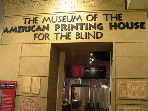 Our American Printing House for the Blind is the largest printer of Braille material in the world