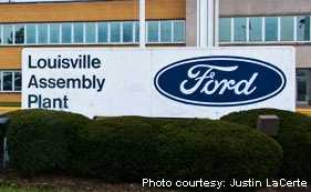 Only Louisville, Kentucky and Dearborn, Michigan have more than one Ford plant in the United States. They both have two.