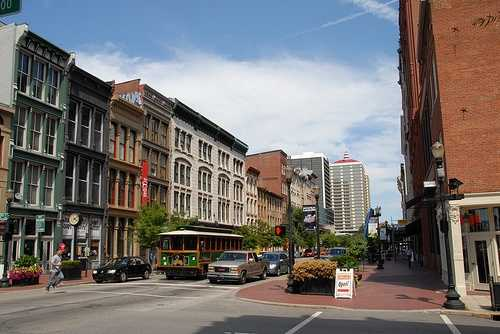 Louisville is the 16th largest city in the United States.