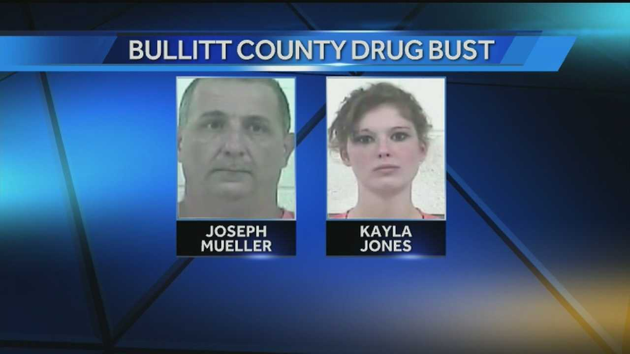A mail carrier in Bullitt County is facing drug charges.