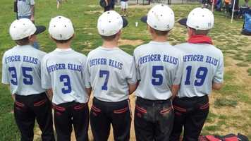 July 13, 2013: Jason Ellis Memorial Baseball Tournament was held at Dean Watts Park to help Ellis' widow and his two young sons.