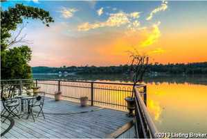 Catch breathtaking sunrises and sunsets, throughout the year, on this expansive private deck.